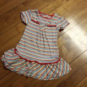 Size 24M baby girls colourful dress